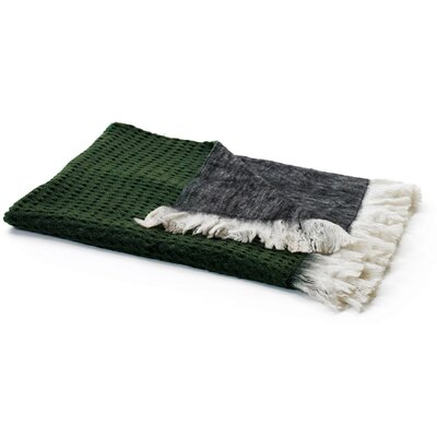 Culbertson Reverse Mohair Wool Throw Blanket