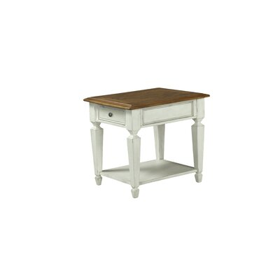 Melany Rectangular End Table