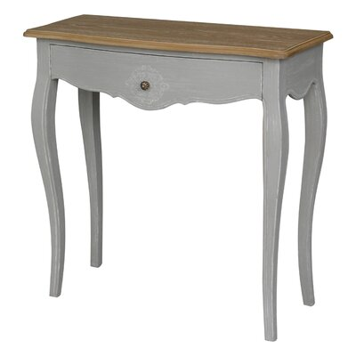 Claude Console Table Finish: Antique Gray