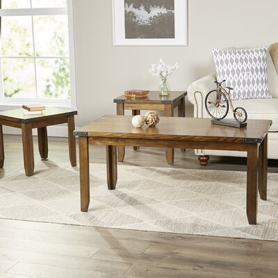Worland Occasional 3 Piece Coffee Table Set