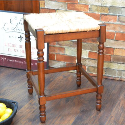 Emilia 24 Bar Stool Color: Chestnut