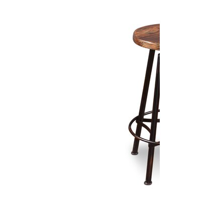 Conrad Adjustable Height Bar Stool