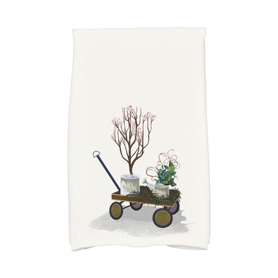 Amanda Farmhouse Holiday Hand Towel