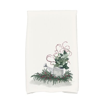 Amanda Gardeners Delight Holiday Hand Towel