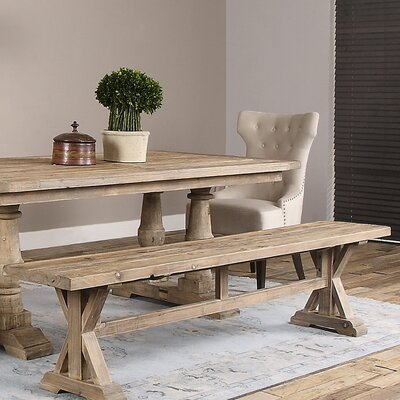Rocky Ford Wood Dining Bench