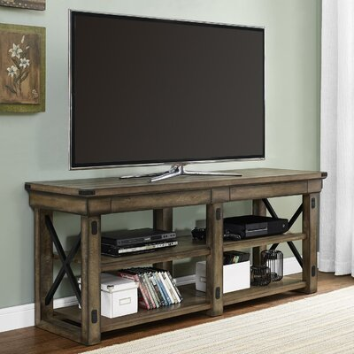 Irwin Rustic Wood TV Stand