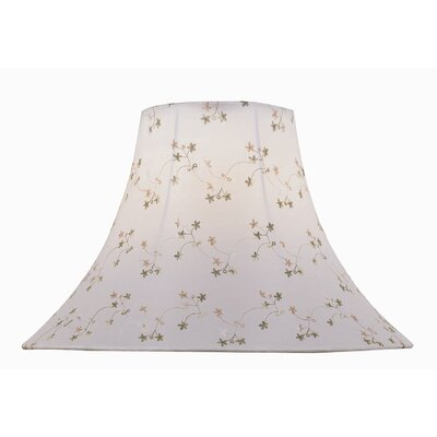 18 Jacquard Fabric Bell Lamp Shade