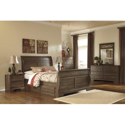 Amalia Sleigh Customizable Bedroom Set