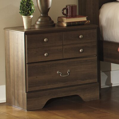 Devondra 2 Drawer Nightstand