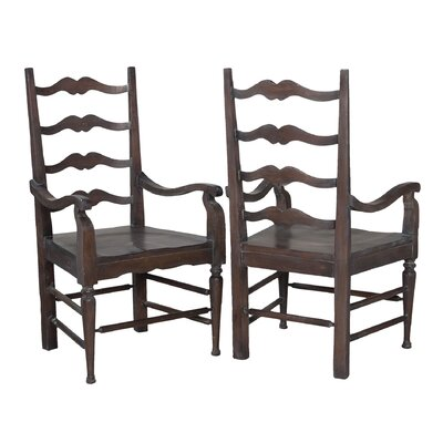 Beaucanton Ladderback Arm Chair