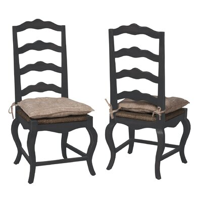 Cheneville Side Chair Finish: Classic Antique Smoke