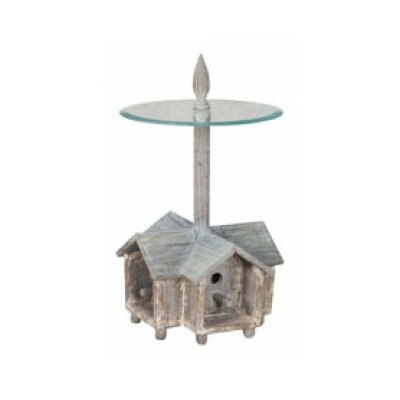 Landrienne Birdhouse End Table