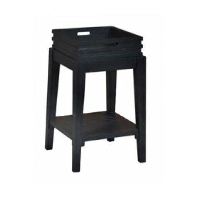 Felicien End Table Color: Manor Graystone