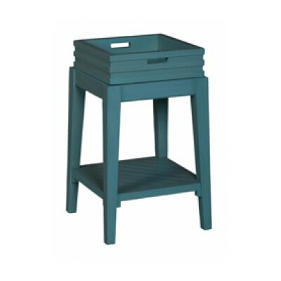 Felicien End Table Finish: Manor Aquamarine