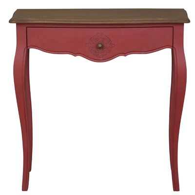 Claude Console Table Finish: Antique Red