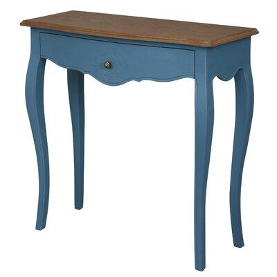 Claude Console Table Finish: Antique Blue