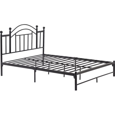 Mayenne Platform Bed Size: Full, Color: Silver