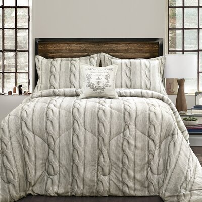 Autrey 4 Piece Comforter Set Size: Full/Queen