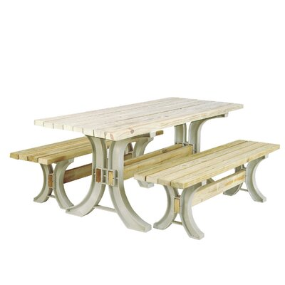 Pyramidale Picnic 3 Piece Table Kit