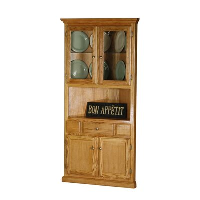 Safran Corner Dining Buffet Hutch Finish: Dark Oak