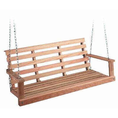 Rosean Porch Swing Size: 18 H x 48 W x 23 D