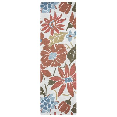 Soline Hand-Tufted Light Natural Area Rug Rug Size: Rectangle 5 x 8