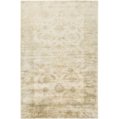 Hinson Beige Area Rug Rug Size: Rectangle 39 x 59