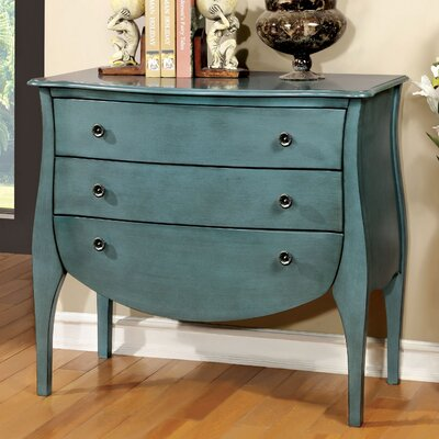 Lacour Console Table Color: Blue