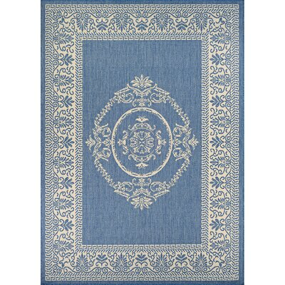 Miley Blue Indoor/Outdoor Area Rug