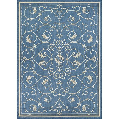 Miley Blue Indoor/Outdoor Area Rug Rug Size: Rectangle 510 x 92