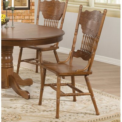 Heliotrope Solid Wood Dining Chair