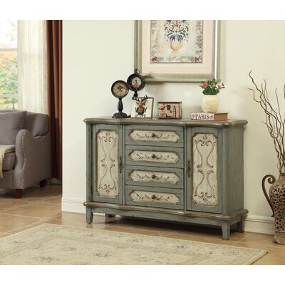 Elya 4 Drawer and 2 Door Sideboard