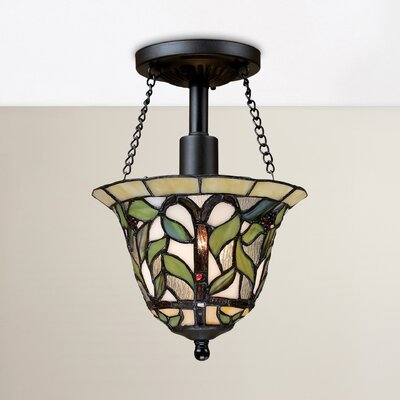 Eleonore 1-Light Semi Flush Mount