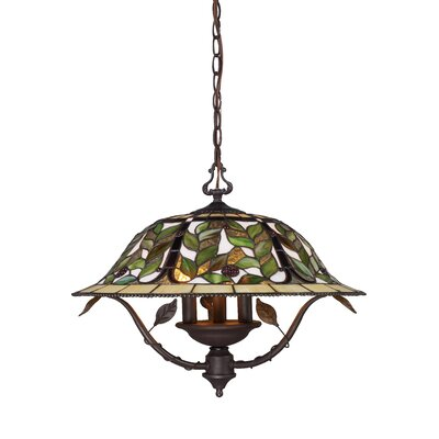 Eleonore 3-Light Shaded Chandelier