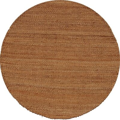 Ephemerine Natural Area Rug Rug Size: Round 6