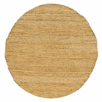 Ephemerine Bleach Area Rug Rug Size: Round 6