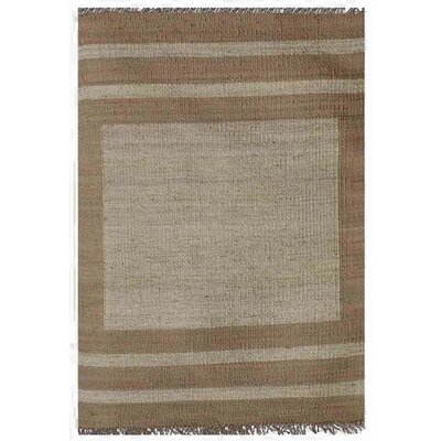 Ephemerine Bleach/Natural Area Rug Rug Size: 9 x 13