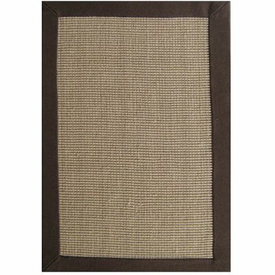 Ephemerine Natural/Brown Area Rug Rug Size: Rectangle 9 x 12