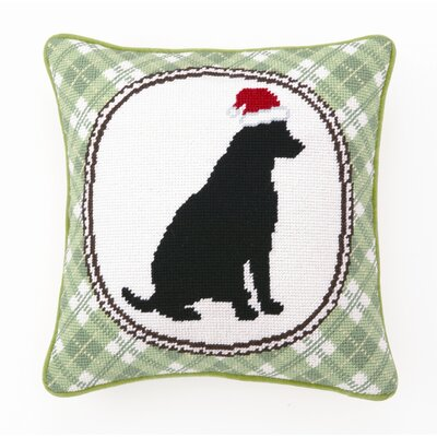 Florian Christmas Dog Wool Pillow