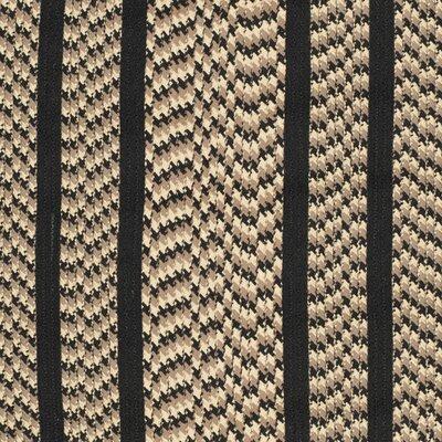 Georgina Contemporary Beige/Black Area Rug Rug Size: Oval 5 x 8