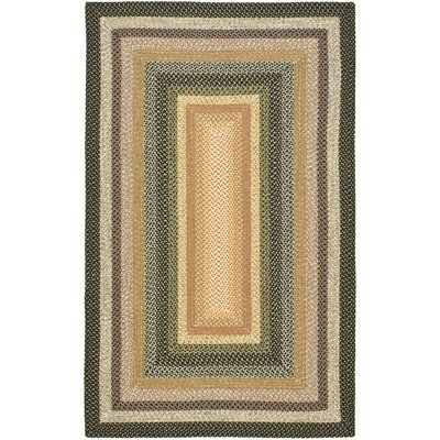 Georgina Blue/Multi Area Rug Rug Size: Oval 6' x 9'