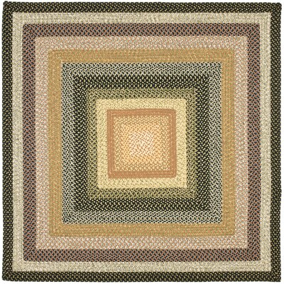 Georgina Blue/Multi Area Rug Rug Size: Square 6