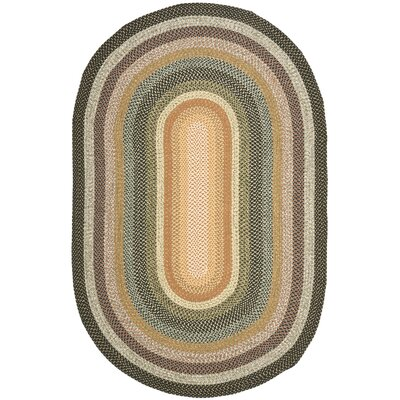 Georgina Blue/Multi Area Rug Rug Size: Oval 8 x 10