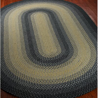 Georgina Black/Grey Area Rug Rug Size: 5 x 8
