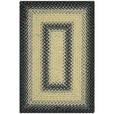 Georgina Black/Grey Area Rug Rug Size: 2 x 3