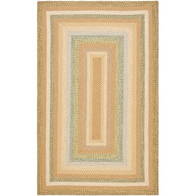 Georgina Tan/Multi Area Rug Rug Size: Round 4