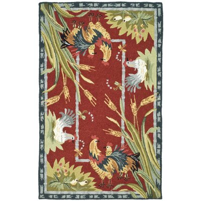 Isabella Country Novelty Rug Rug Size: 18 x 26