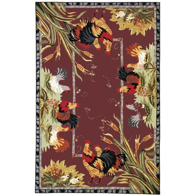 Isabella Country Novelty Rug Rug Size: 6 x 9