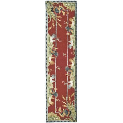 Kinchen Country Novelty Rug Rug Size: Runner 26 x 8