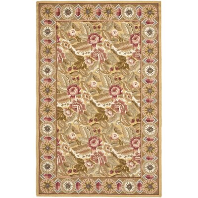 Kinchen Gold/Multi Rug Rug Size: Rectangle 39 x 59
